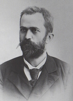 Academician Petar S. Pavlović, geologist and Director of the Natural History Museum of the Serbian Land (today Museum of Natural History in Belgrade), around 1895.